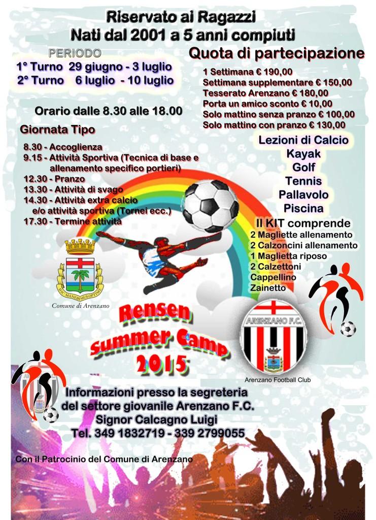 rensen summer camp 2015